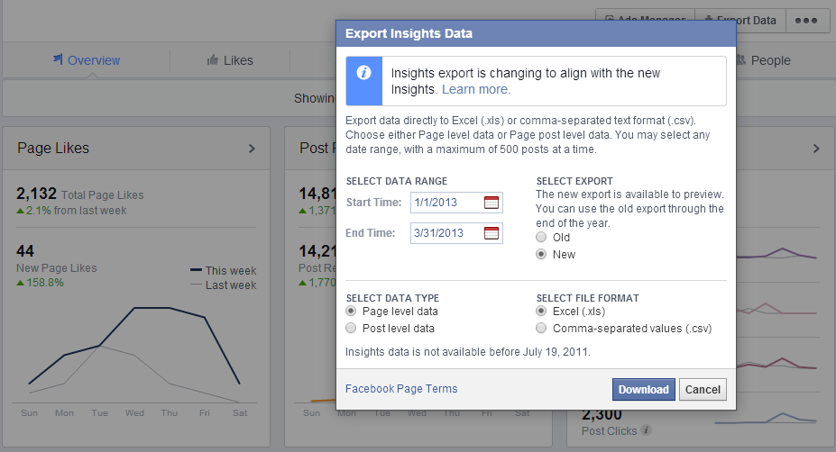 export insights