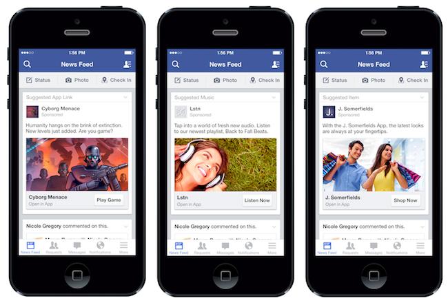 facebook pe mobil