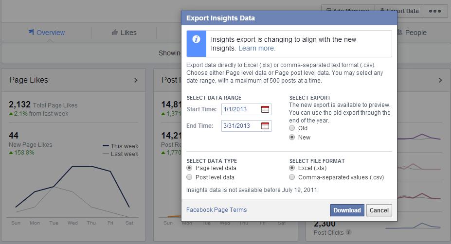 export insights